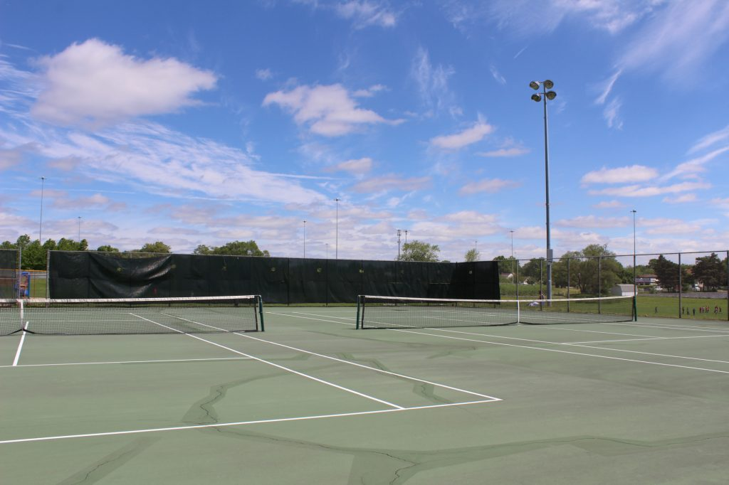Tennis Courts at Weis Park Canton Parks and Rec