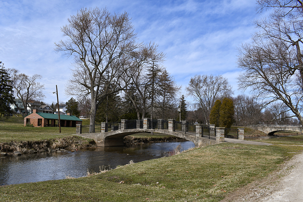 Waterworks Bridge and Shelter Canton Parks & Recreation