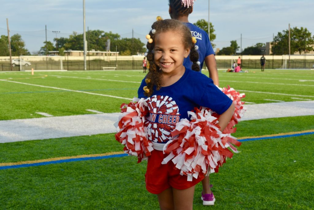 Youth Cheer Canton Parks & Recreation