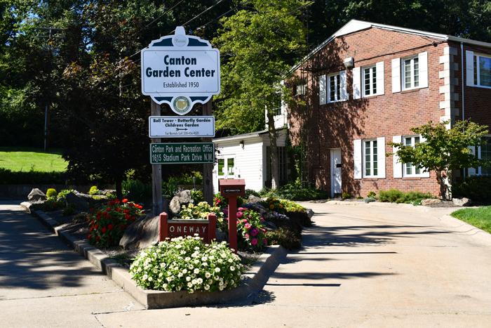 Canton Garden Center Entrance