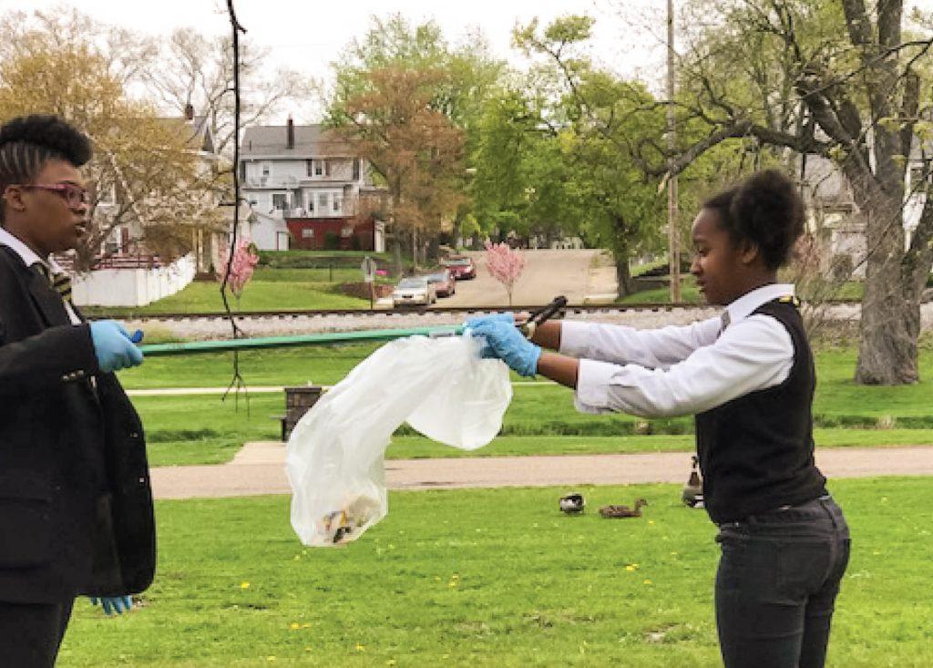 Canton Parks & Recreation Park Clean-Up