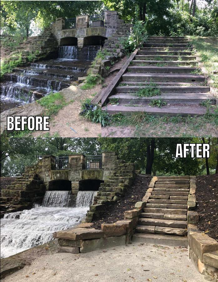 Monument Park Restoration Capital Campaign Canton Parks & Rec